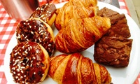 Up to Ten Vouchers for Hot Drink and a Pastry or Toast with Jakes Coffee Box
