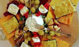 Bellavista: Menu vegetariano con calice di vino per 2 o 4 persone al Bellavista (sconto fino a 73%)