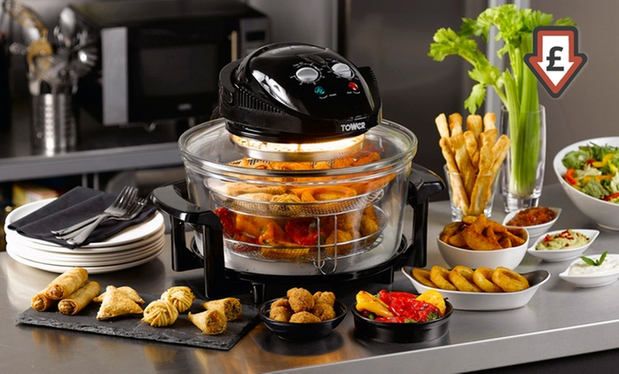 Tower Air Fryer T14001 for £39.98 With Free Delivery (60% Off)