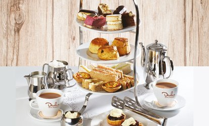 image for Afternoon Tea for Two and an Optional Treat Box to Takeaway at Druckers Vienna Patisserie (Up to 33% Off)