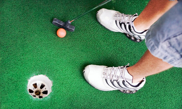 Smiley's Golf and Learning Center - Winston-Salem: $15 for Unlimited Mini Golf Package for Four at Smiley's Golf and Learning Center (Up to $37 Value)