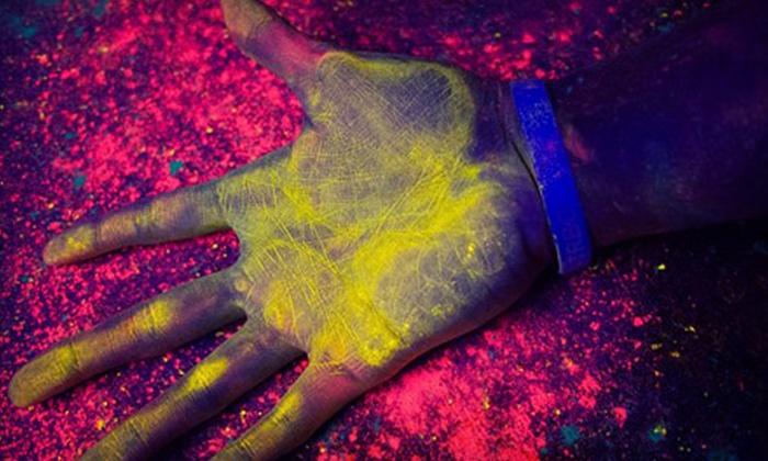 Blacklight Run - Austin: 5K Registration for One or Two from Blacklight Run on Saturday, November 30 (Up to 57% Off)