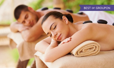 45% Off Couples Massage with River or Hot Stones