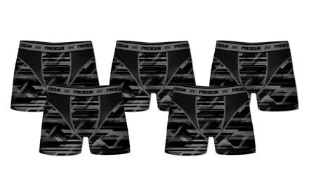 Pack de 5 bóxers Freegun Aktiv 2