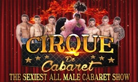 Cirque De Cabaret, One, Two or Four Tickets, 21 October - 31 December, Three Locations