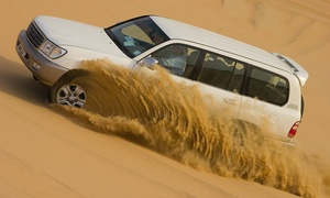 Off Road Adventure Tours: Half-Day Desert Safari with Dune Bashing, BBQ Dinner and Belly Dance with Off Road Adventure Tours (Up to 51% off)