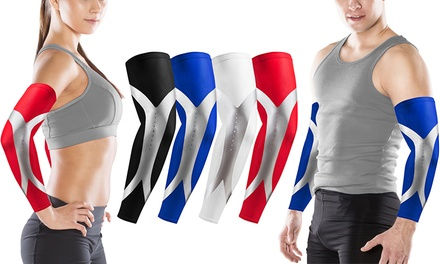 Unisex Arm Compression Sleeves for Athletes