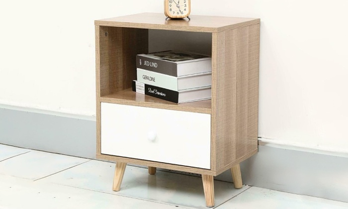 Bedroom Bedside Table from £27.98 (53% OFF)