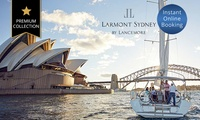 Sydney, NSW: 1-, 2-, or 3-N City Break for Two with Breakfast, Wine, and Late Check-Out at Larmont Sydney by Lancemore