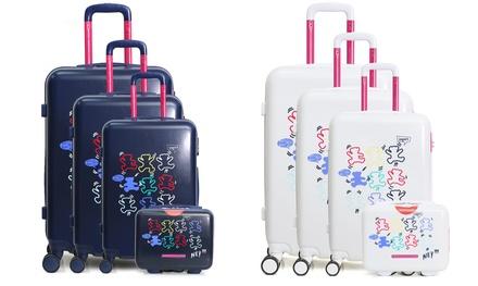 1 o 4 valigie Lulu Castagnette disponibili in 4 modelli e 2 colori