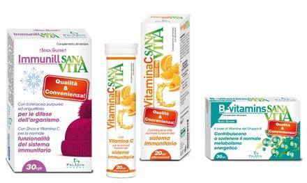 Vitamina C, B o Zinco Sanavita