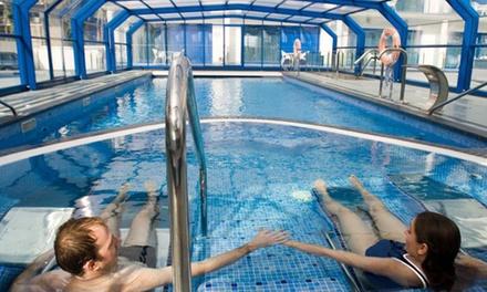 Circuito spa ilimitado para dos personas con masaje relajante o de piedras calientes desde 39,90 € en Masd Mediterráneo