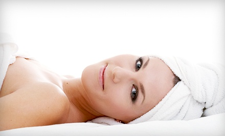 $75 for a Spa Package with a Facial, Massage, Paraffin Dip, and Body Scrub at Mee Skin Care ($253...