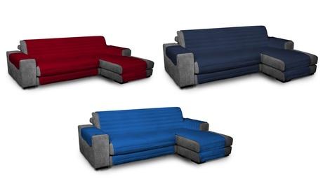 Funda de sofá acolchada de microfibra hipoalergénica