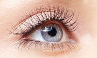 Eyelash Extensions with Eyebrow Reshape or Tint at Pour Vous Beauty