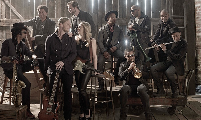 Tedeschi Trucks Band - The Fillmore Charlotte: Tedeschi Trucks Band with Sharon Jones & The Dap-Kings and Doyle Bramhall II on July 15 (Up to 40% Off)