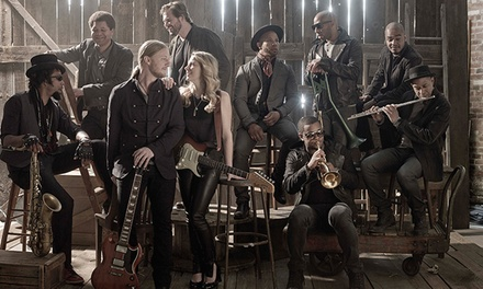 Tedeschi Trucks Band with Sharon Jones & The Dap-Kings and Doyle Bramhall II on July 15 (Up to 40% Off)