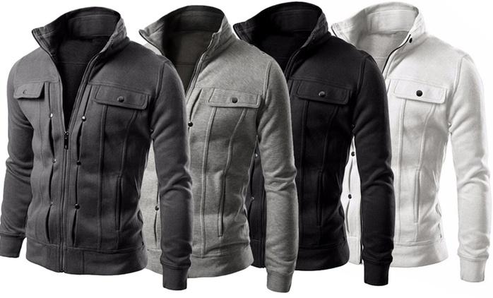 Veste pour homme en coton mélangé House of Trends, coloris et tailles aux choix, à 24,90 € (69% de réduction)