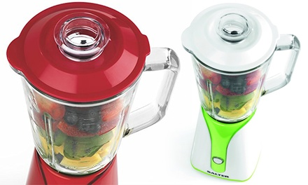 Salter Two-in-One Blender to Go Smoothie Maker Personal Jug Blender 350W