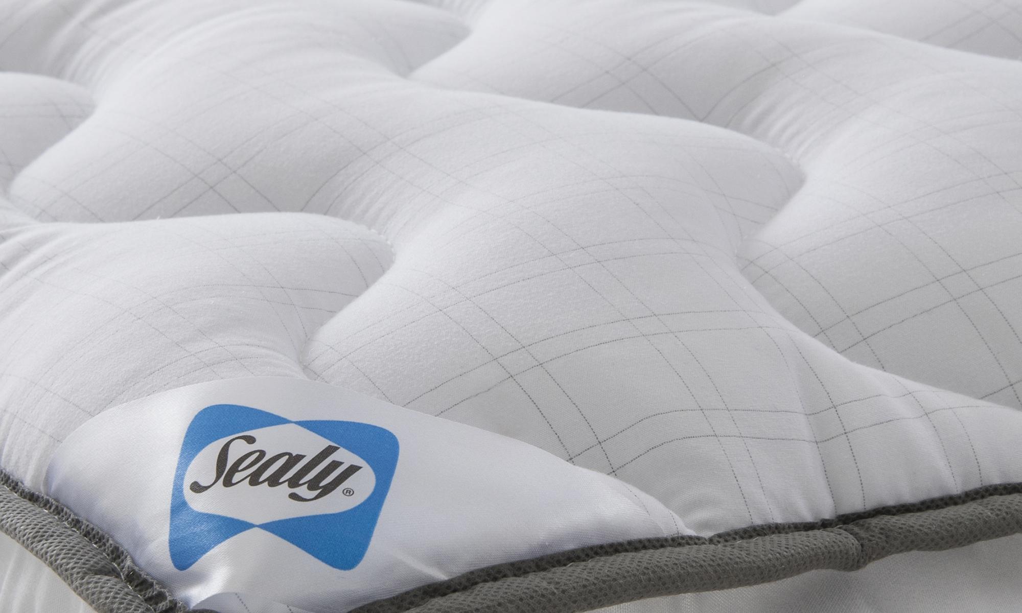 Sealy select balance 5cm dual layer mattress topper from for Mattress deals