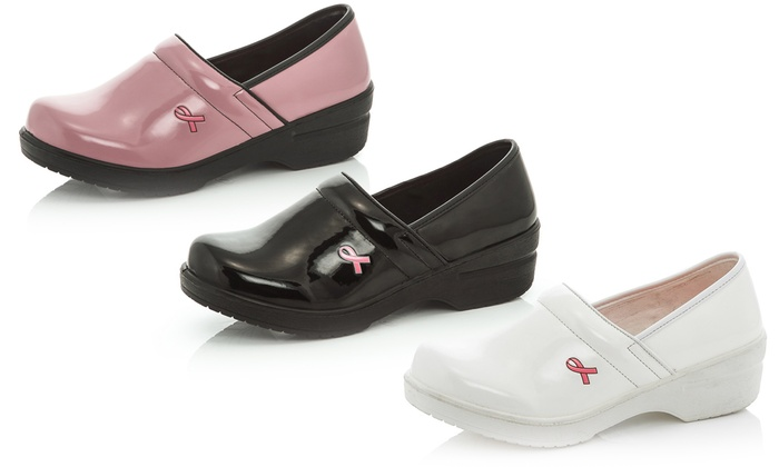Women's Breast Cancer Awareness Clogs