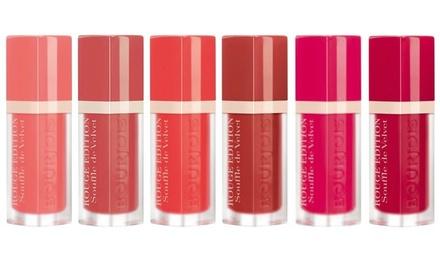 Bourjois Rouge Edition Souffle De Velvet Lipsticks Set of Six