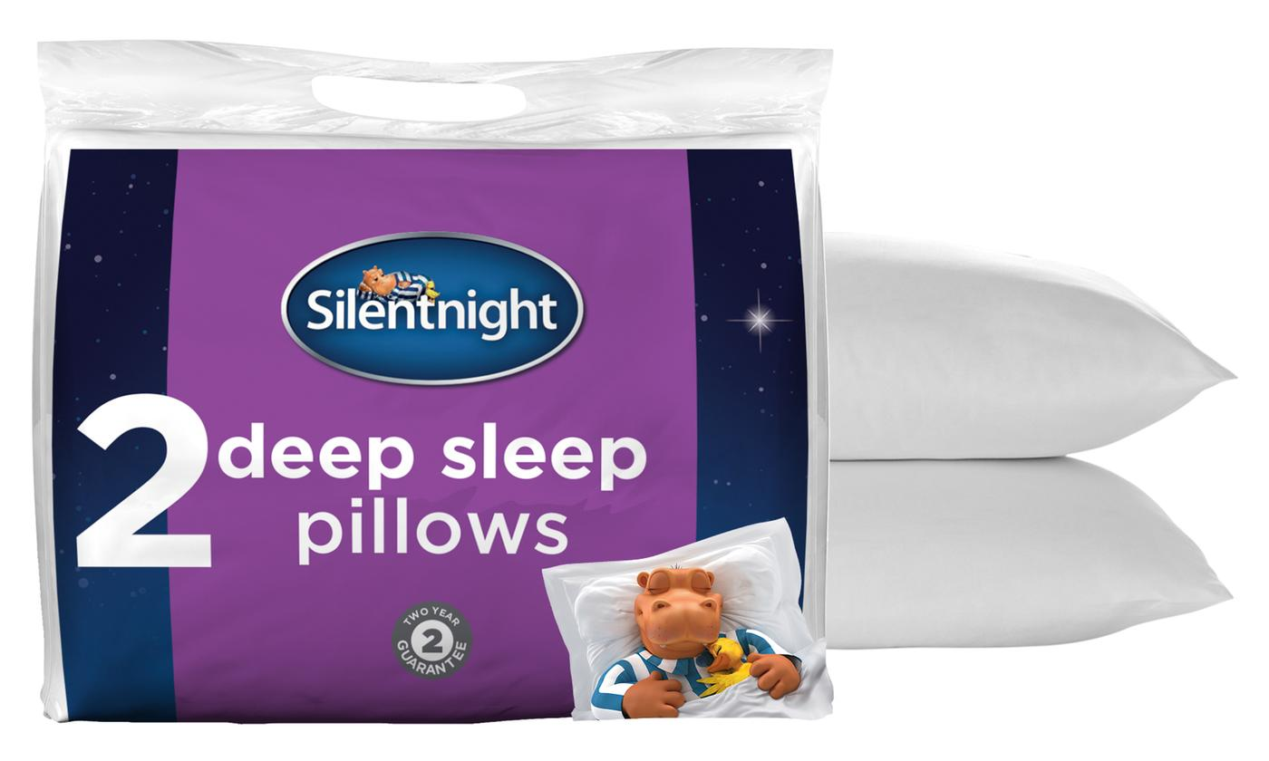 Two-, Four- or Six-Pack of Silentnight Deep Sleep Pillows