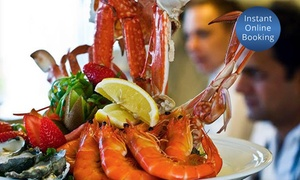 Altitude 1148: Seafood Platter and Bottle of Wine for Two ($99) or Four People ($198) at Altitude 1148, Bulli Tops (Up to $358 Value)