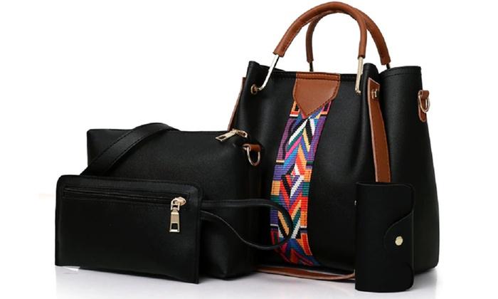 4 er Set Damentaschen | Groupon