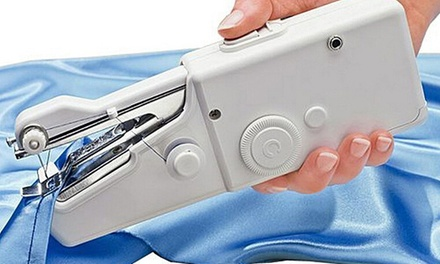 Portable Handheld Cordless Electric Sewing Machine: One ($19) or Two ($35)