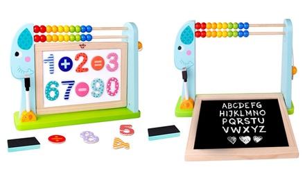 Multipurpose Puzzle Educational Elephant Board