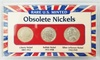 Rare US Minted Obsolete Nickels: Rare US Minted Obsolete Nickels