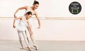 Escola de Dança Ballet Studio: 1, 3 ou 6 meses de balé ou jazz, nível iniciante ou intermediário, na Escola de Dança Ballet Studio – Rio Tavares
