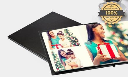 1 o 2 fotolibros con portada de cuero plano de 20, 30 o 40 páginas en Printerpix (ES) (hasta 74% de descuento)