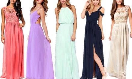 Selectie van bruidmeisjeskleding voor diverse gelegenheden