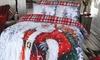 Set de couette Santa Presents
