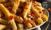 Telhado Chopp - Jundiaí, SP: Telhado Chopp – Anhangabaú: 5 porções de porção + chopes