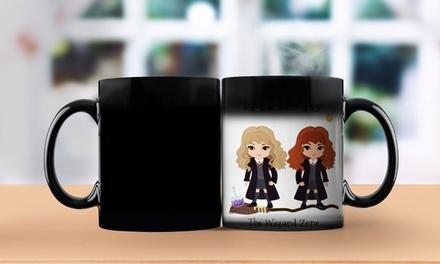1 ou 2 mugs personnalisés magiques Sorcier sur le site Printerpix dès 4,99 € (jusqu'à 78% de réduction)