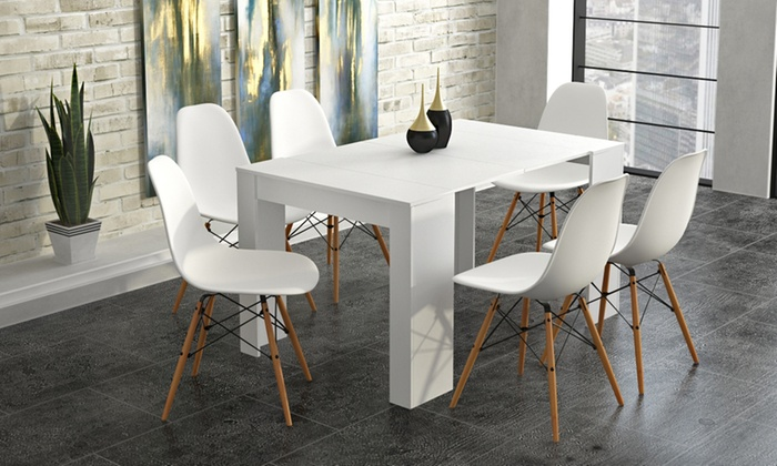 Extending Dining Table Groupon Goods