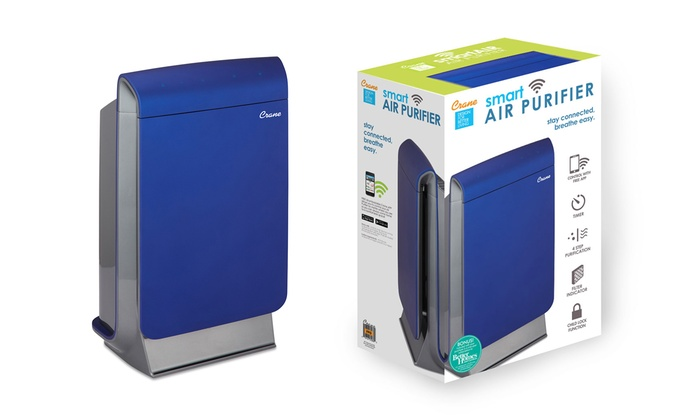 Crane SmartAir Home Wifi-Enabled Air Purifier
