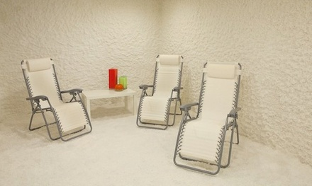 45-Minute Salt Room Session at The Salt Room (Up to 51% Off). Three Options Available.