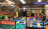 60-Minute Trampoline and 30-Minute Soft Play Access for One or Two at Mister Twisters