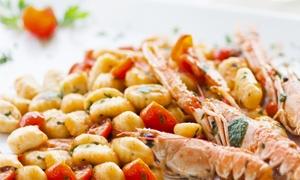 MAGIC MOMENTS DA STEFY: Menu di pesce in 4 portate e bottiglia di vino (sconto fino a 66%)