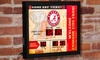 NCAA Game Ticket Wall Clock with Built-In Bluetooth Speaker: NCAA Game Ticket Wall Clock with Built-In Bluetooth Speaker