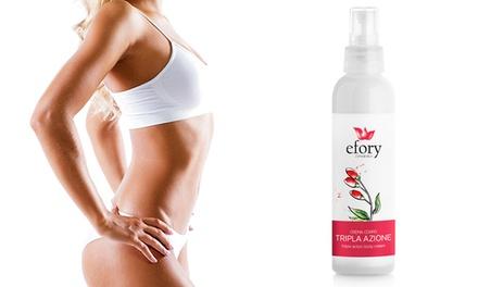 Hasta 3 Efory Cosmetics crema corporal en aerosol anticelulítico 150 ml con bayas de Goji, guaraná y Regu®-Slim