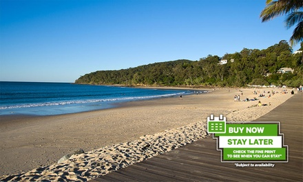 Noosa Heads: 3-5 Nights for Up to Four with Late Check-Out, Wine, Tennis and Gym Access at Noosa Hill Resort