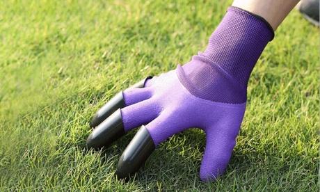 Gartenhandschuhe mit integrierten Krallen in der Farbe nach Wahl
