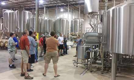 Brewery Tour for Two or Four with Six-Packs at Nebraska Brewing Company (Up to 55% Off)