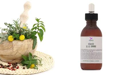 Olio 111 alle piante officinali utile per raffreddori, dolori muscolari ed igiene personale