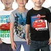 2 Boy's Licensed Character T-Shirts